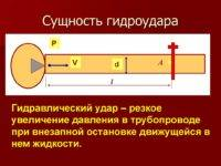 Гидравлический удар в трубопроводах: природа, причины, методы защиты