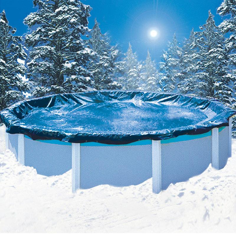 Как сложить каркасный бассейн на зиму?