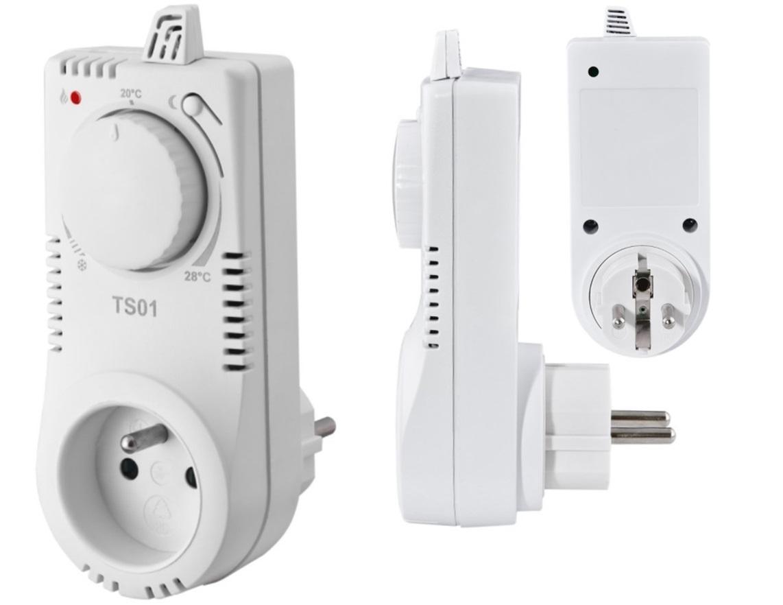 Терморегулятор в розетку для бытовых обогревателей: как выбрать, как сделать самому