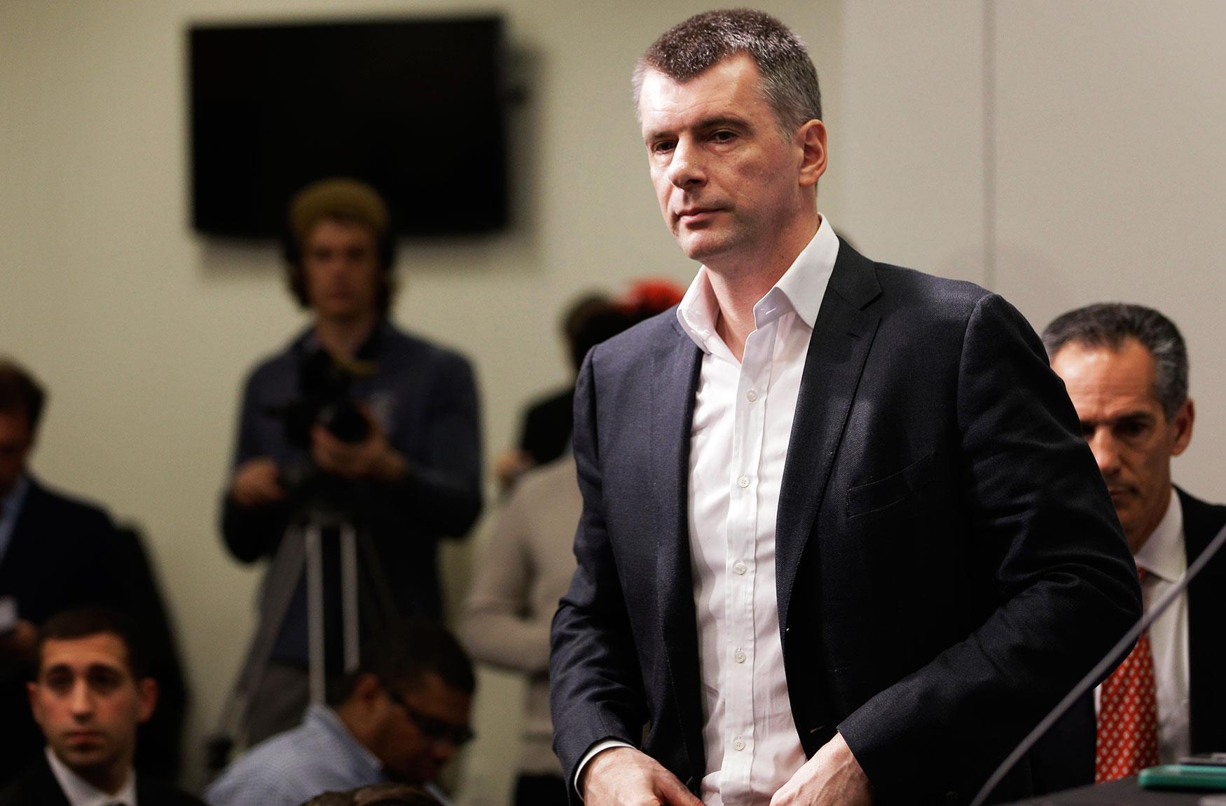 Чем живет один из богатейших бизнесменов россии и бывший кандидат в президенты михаил прохоров