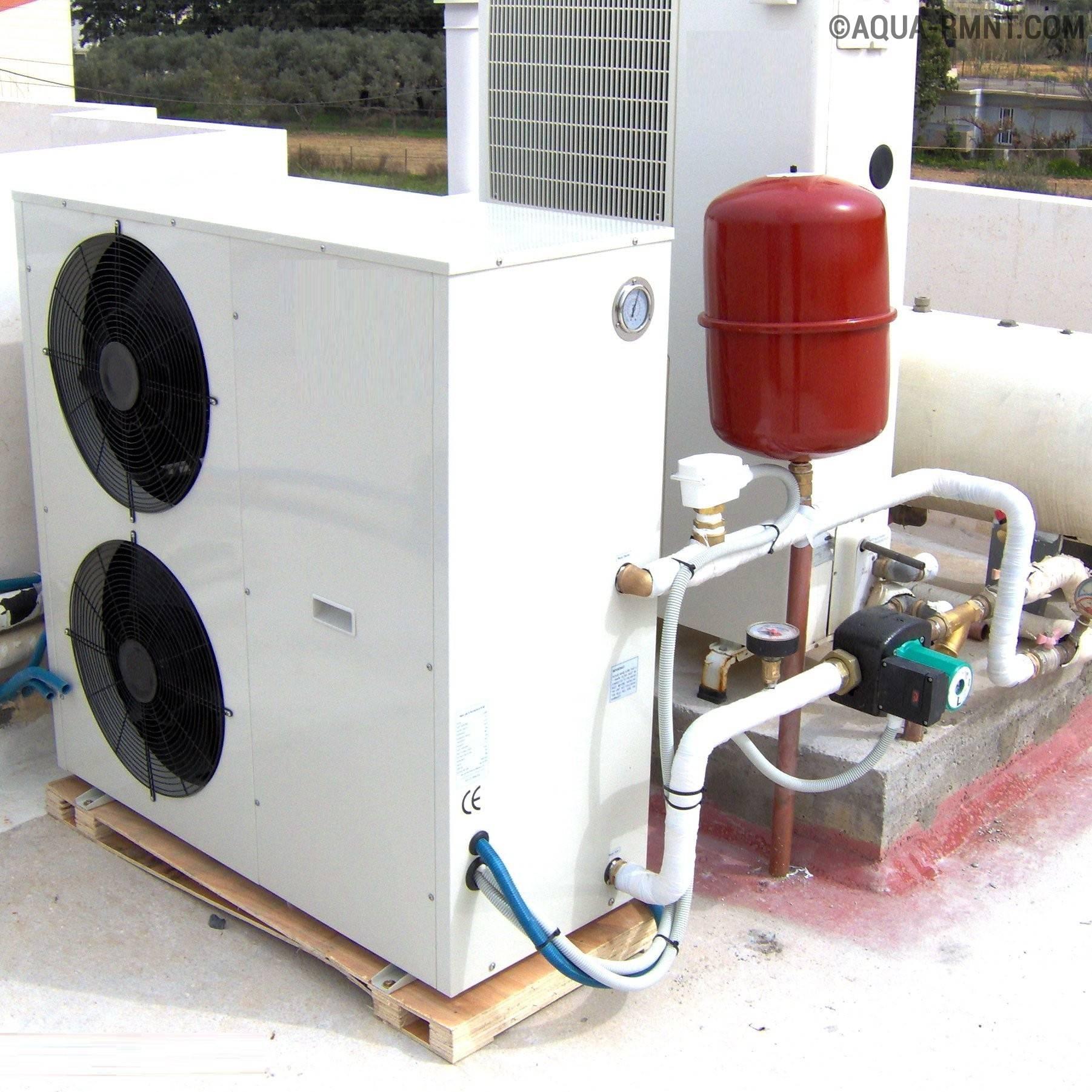 Тепловой насос типа воздух-вода: обзор технологии самостоятельного конструирования