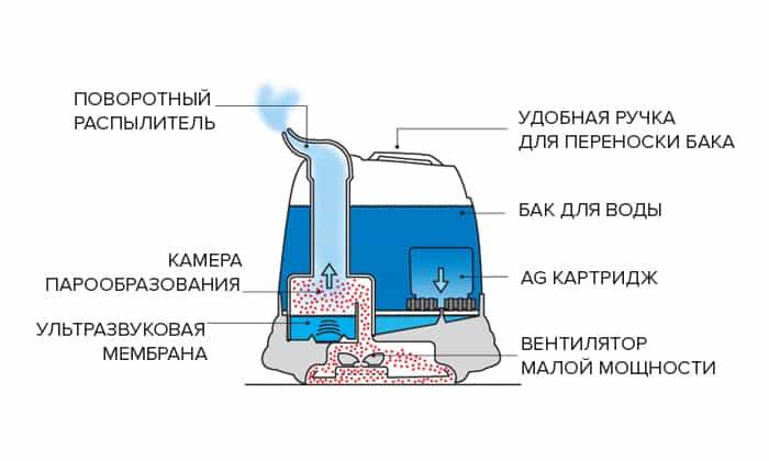 Увлажнитель-озонатор или увлажнитель-ионизатор — что лучше?