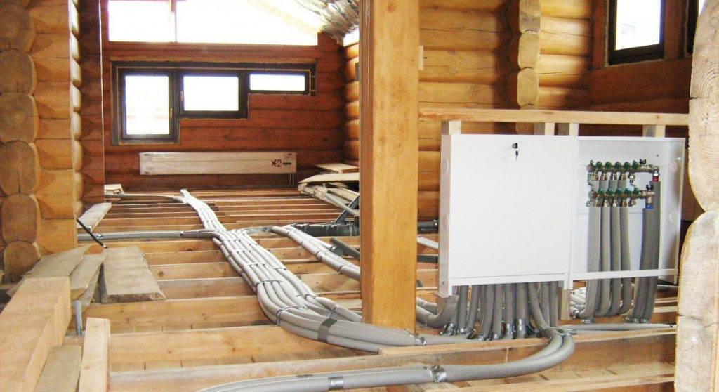 Отопление в деревянном доме: лучшие варианты и схемы монтажа обогрева, какое сделать в частном коттедже