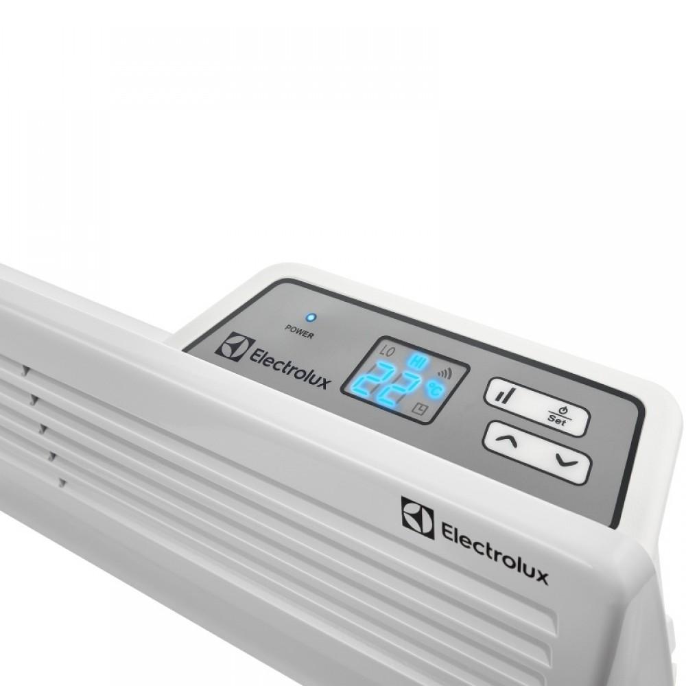Электрические конвекторы с электронным программируемым термостатом и жк – дисплеем