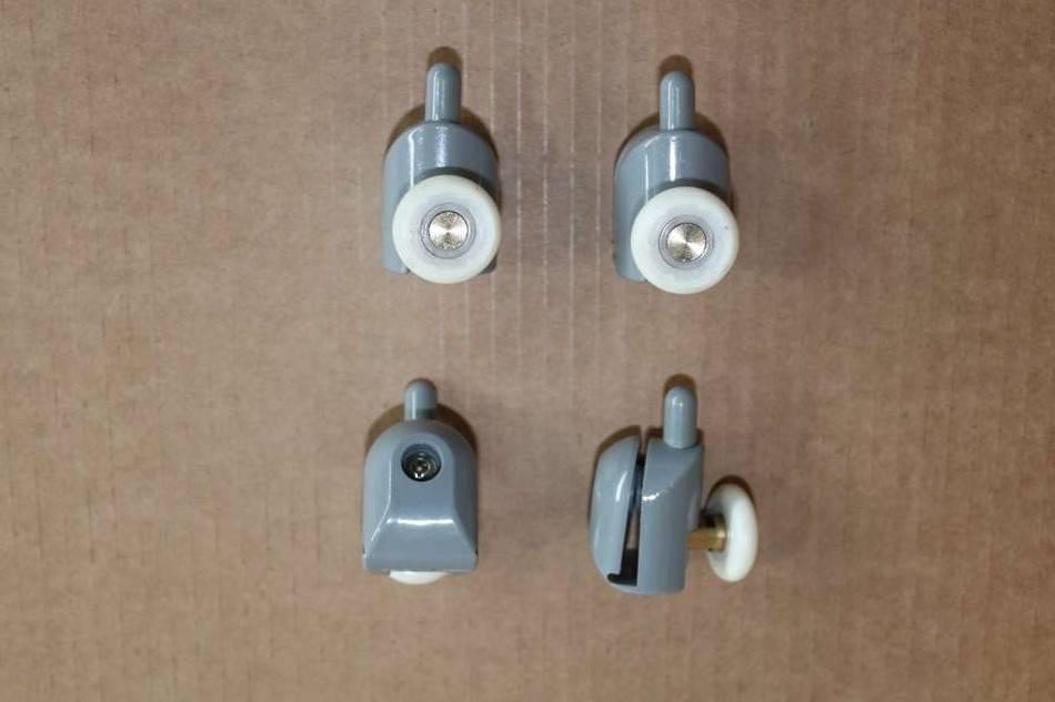 Как отремонтировать и заменить ролики для душевой кабины?