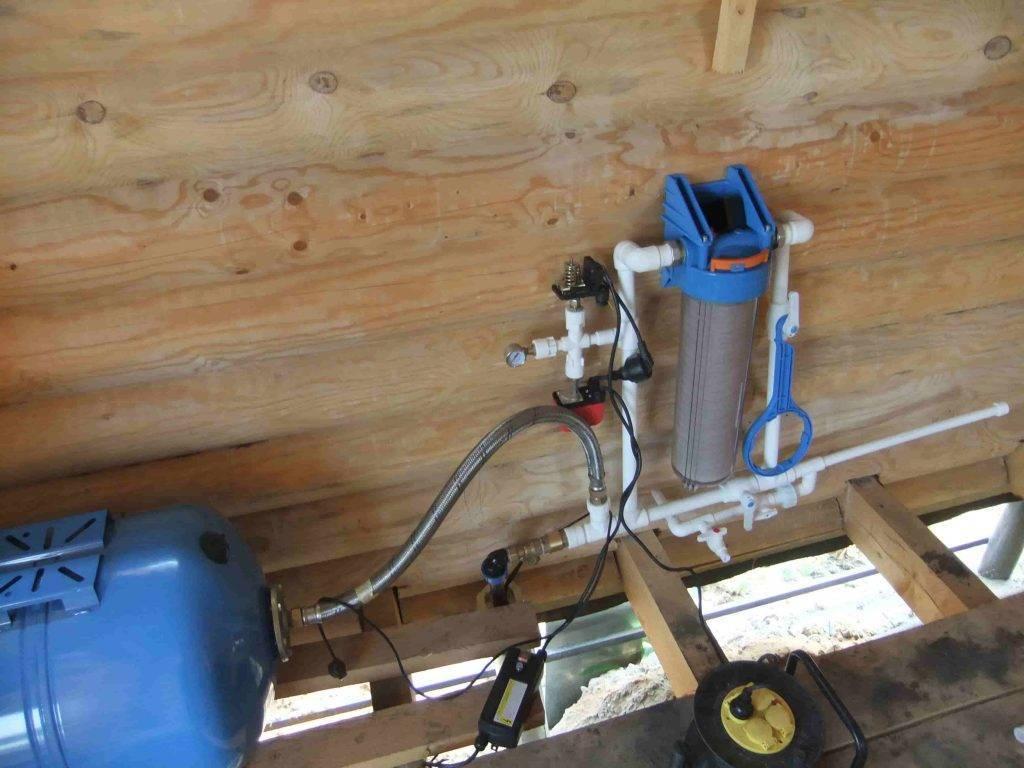 Как провести воду из колодца в дом: составляющие водопровода и ввод