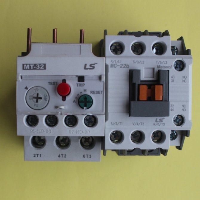 Тепловое реле для электродвигателя: принцип работы, устройство, как выбрать - точка j