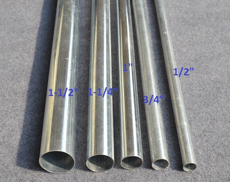 Металлические трубы для электропроводки: тонкостенная стальная труба для проводки, гибкие трубки для кабеля