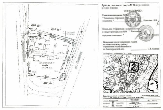 Что такое ситуационный план земельного участка для газификации