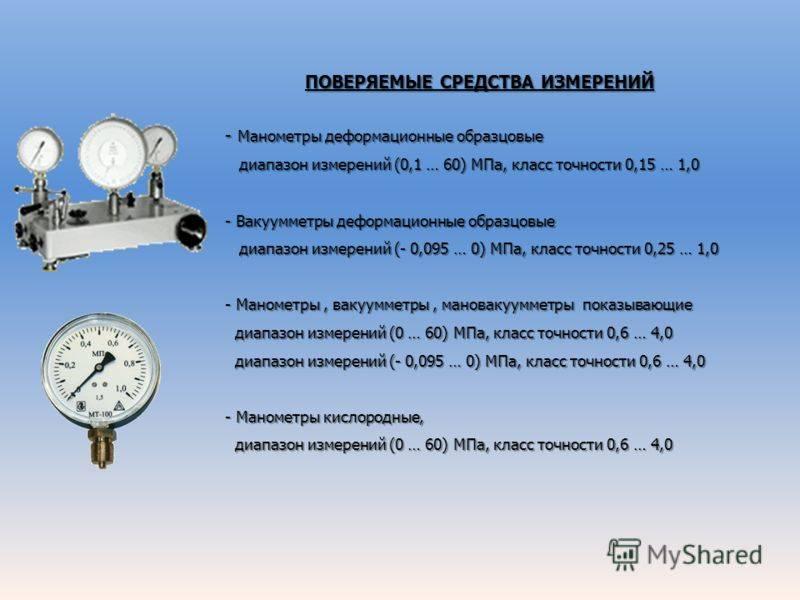 Типы расходомеров-счетчиков газа