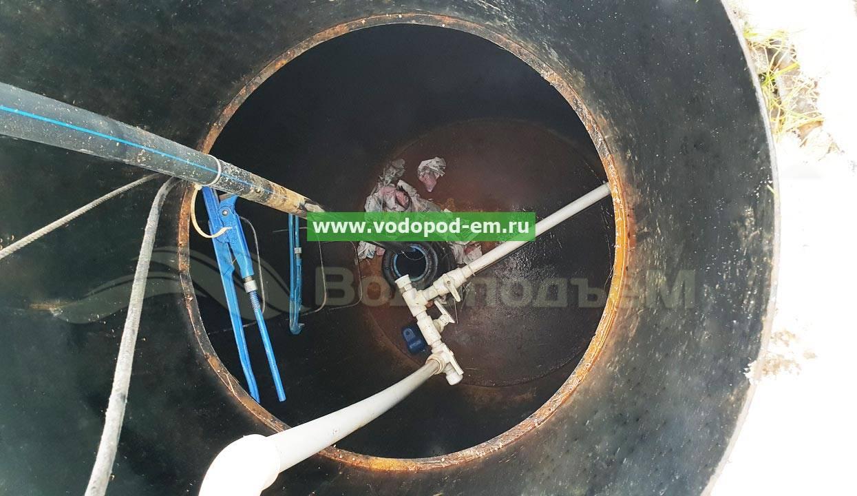 Установка скважинного насоса: правила монтажа погружного насоса, советы, видео