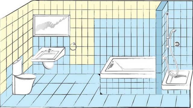 Гидроизоляция ванной комнаты под плитку: материалы и этапы работ