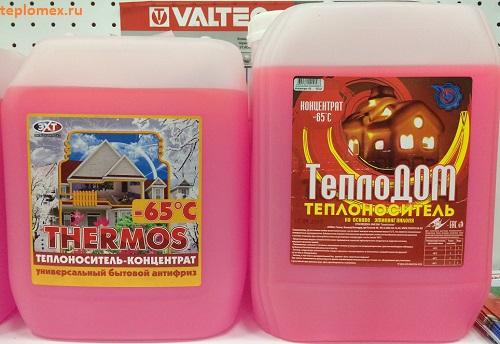 Теплоноситель для системы отопления загородного дома: какой лучше использовать