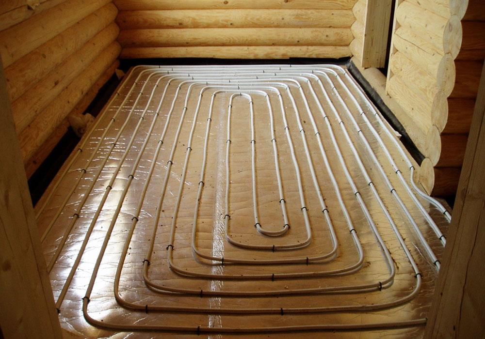 Как сделать отопление в деревянном доме: устройство обогрева, разводка и монтаж