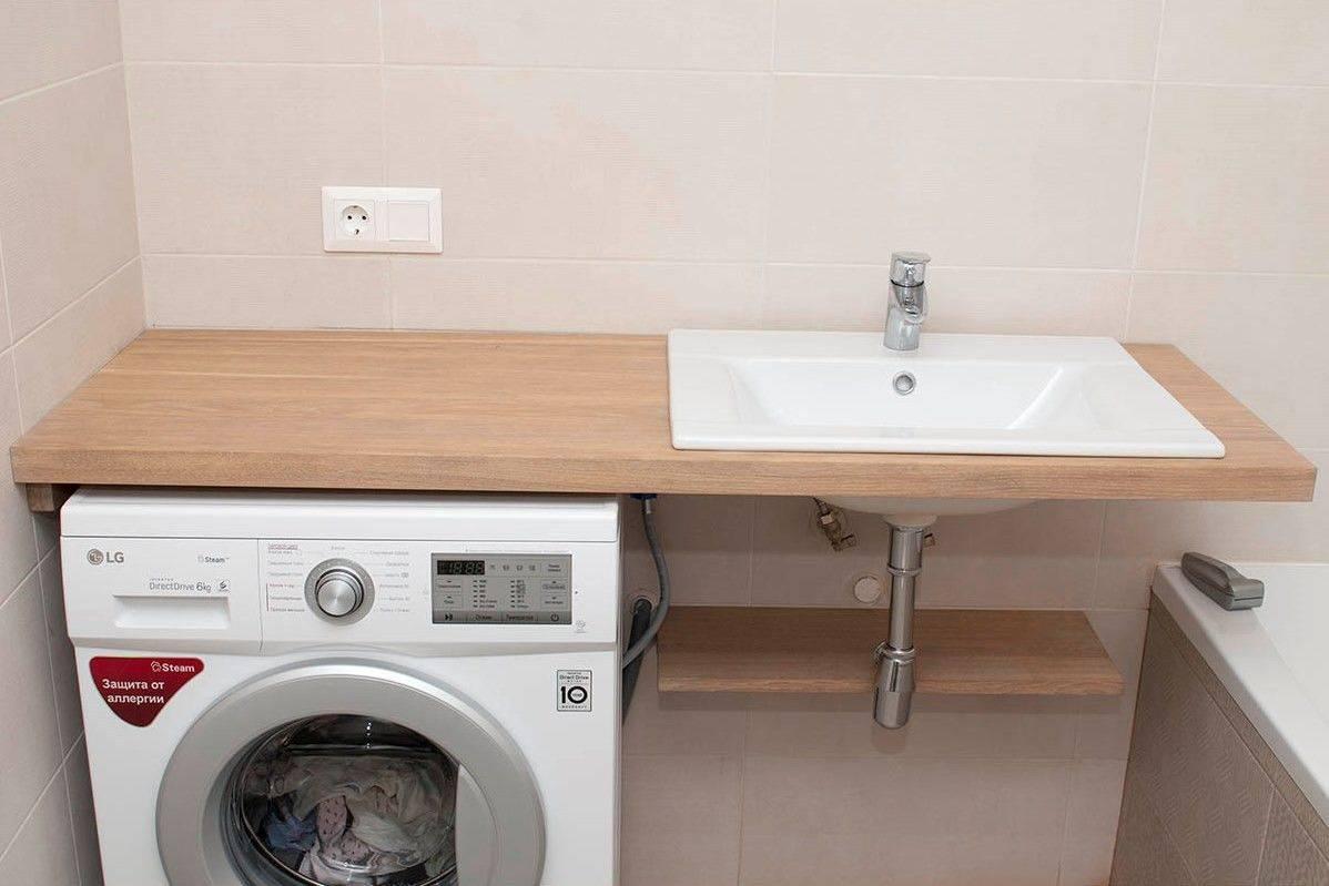 Столешница для ванной комнаты под раковину: обзор популярных решений