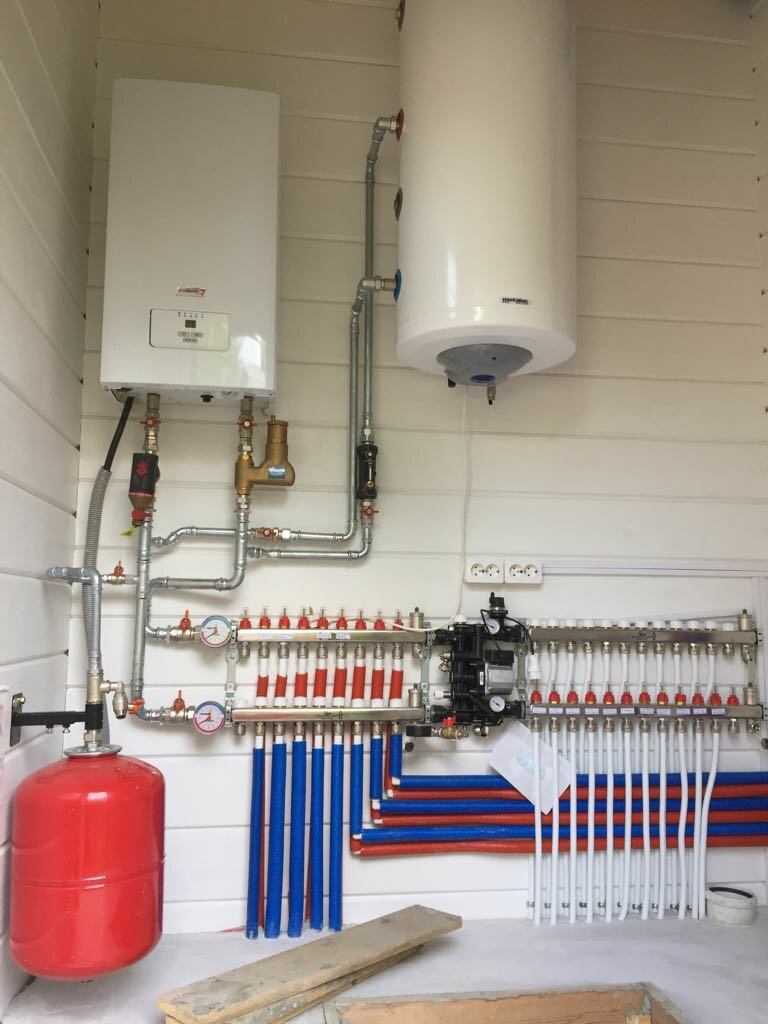 Схемы электроснабжения, водоснабжения и отопления в коттеджах, загородных домах