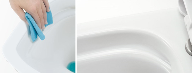 Безободковый унитаз (75 фото): что это такое? плюсы и минусы унитазов без ободка, особенности приставных моделей и унитазов компакт, отзывы