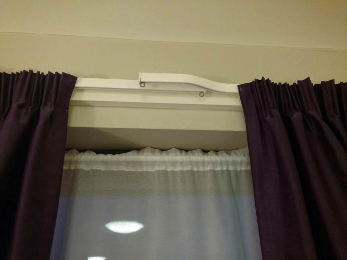 Советы как повесить шторы без карниза - блог о строительстве