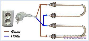 Тэны для нагрева воды с терморегулятором - цена и конструкция
