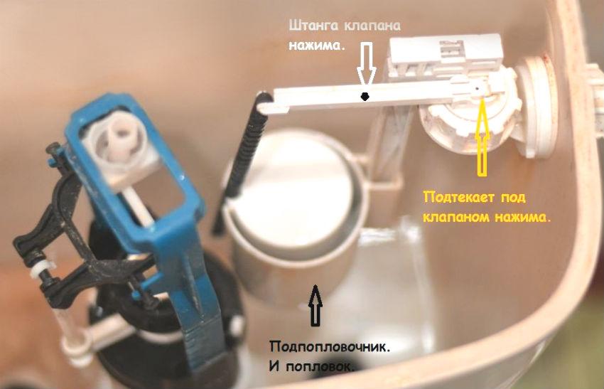 Протекает бачок унитаза: что нужно делать при обнаружении протечки