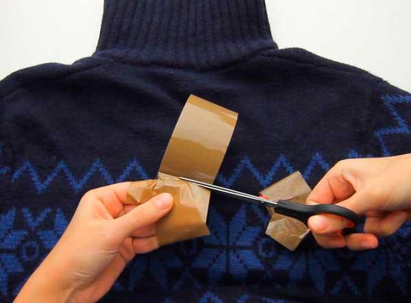 Как убрать катышки с одежды. катышки на одежде: способы удаления скотчем, ножницами