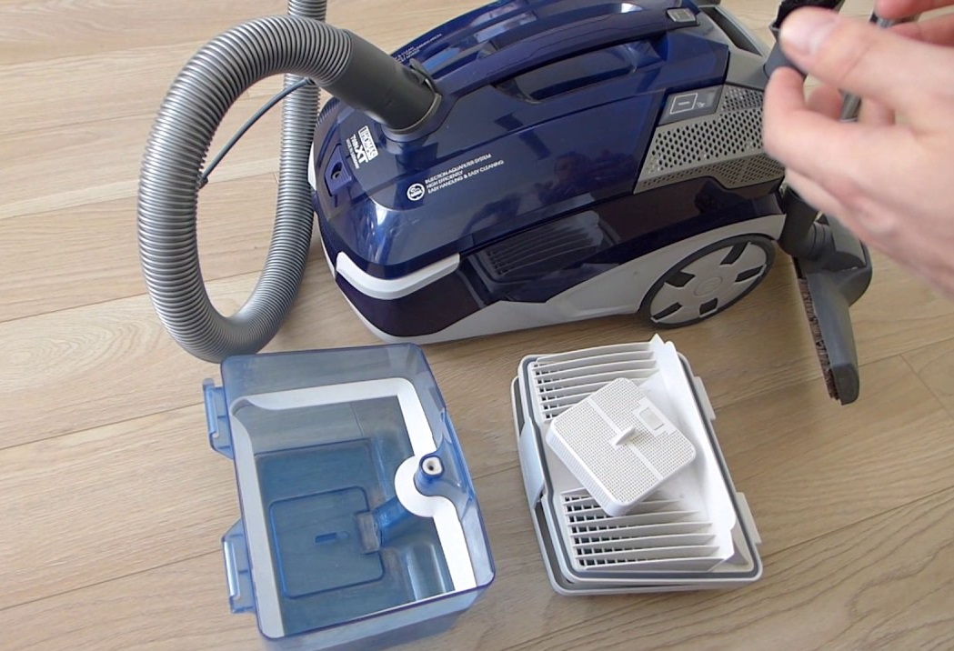 Пылесос thomas drybox с системой фракционного разделения пыли