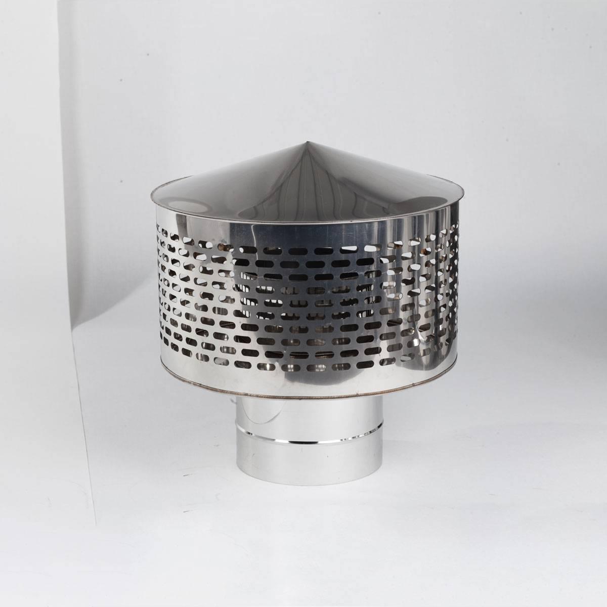 Искрогаситель на дымоход: как можно снизить «искровый выхлоп» + пример самоделки