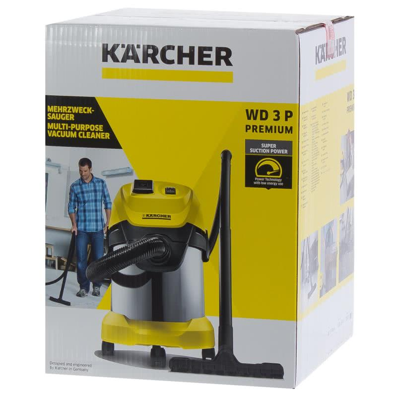 Обзор пылесоса karcher wd 3 premium: характеристики, отзывы + преимущества перед конкурентами
