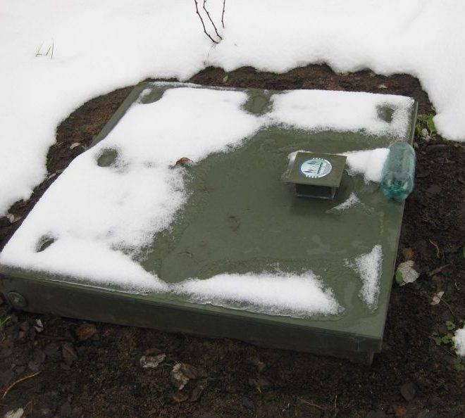 Консервация септика «топас» на зиму: 5 этапов