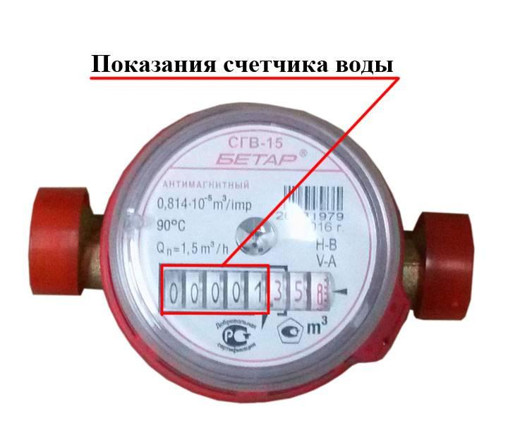 Как правильно снять(какие цифры), писать и вписывать, передавать показания счетчика воды