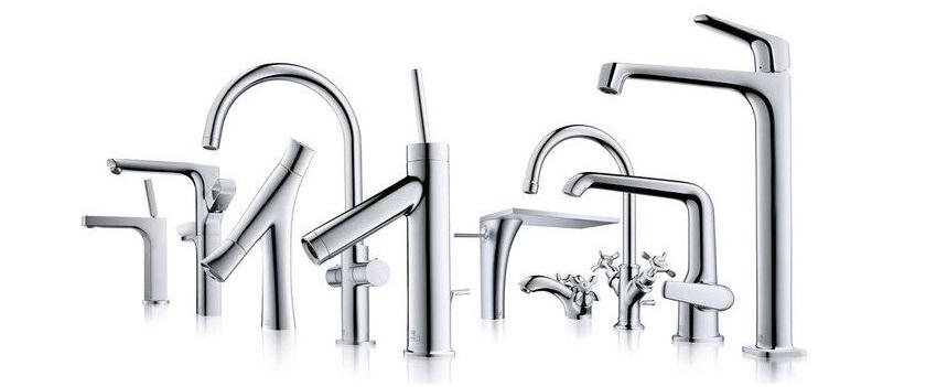 Смеситель для раковины (75 фото): встраиваемый или накладной кран для умывальника в ванной комнате, встроенный вариант с выдвижным изливом