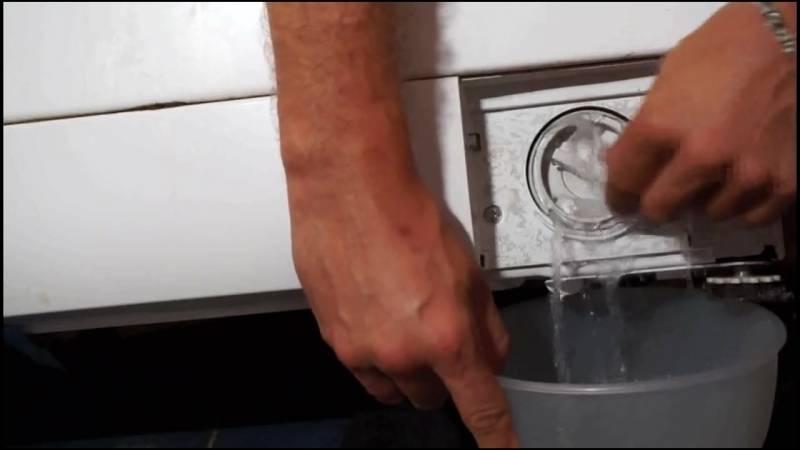 5 лучших способов принудительно слить воду из стиральной машины