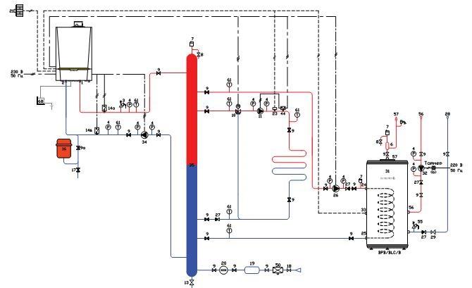 Обвязка газового котла полипропиленовыми трубами: соединение труб в раструб сваркой | отопление дома и квартиры