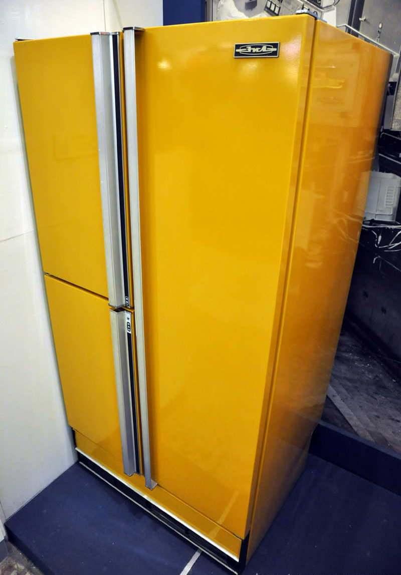 В каком году изобрели холодильник?