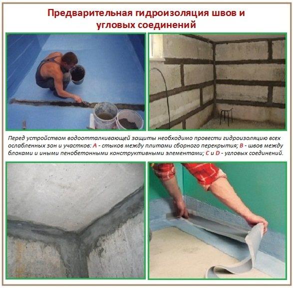 Гидроизоляция ванной комнаты мастикой: плюсы, минусы и обзор составов
