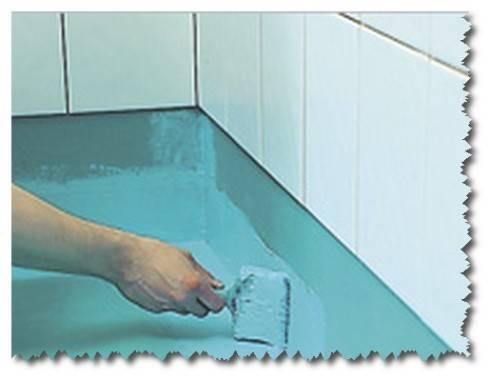 Материалы и технологии гидроизоляции пола в ванной под плитку