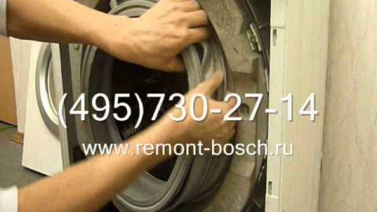 Как заменить манжету люка стиральной машины своими руками
