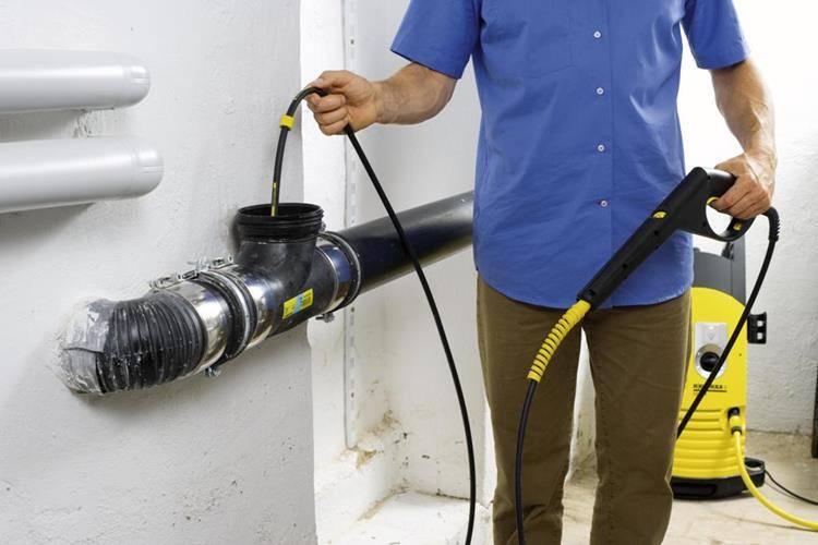 Промывка труб канализации: оборудование, насадки