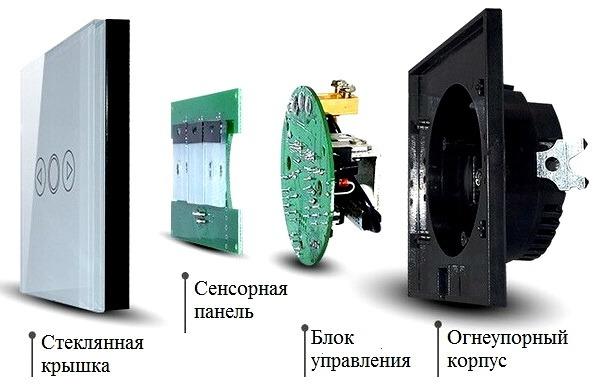 Сенсорный выключатель: устройство, функции, преимущества, особенности подключения, советы по выбору выключателей
