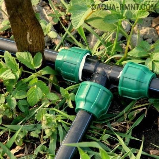 Какие трубы выбрать для организации полива огорода — советы по выбору от мастеров