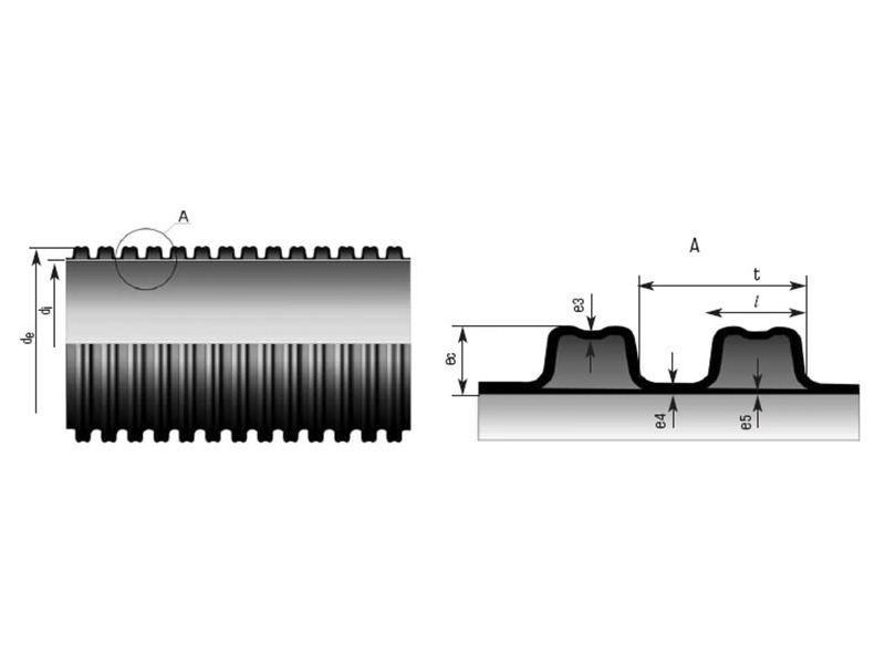 Гофрированные трубы для наружной канализации: виды, правила и стандарты применения
