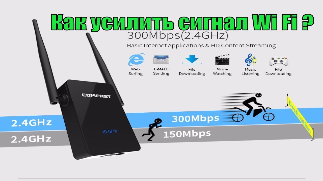 Wifi repeater — настройка для усиления сигнала