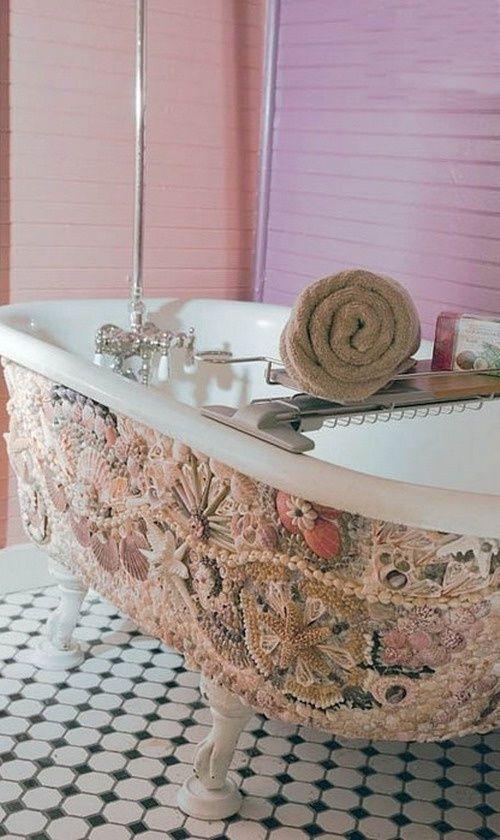 Декор ванной — лучшие идеи современного оформления из подручных материалов (85 фото)