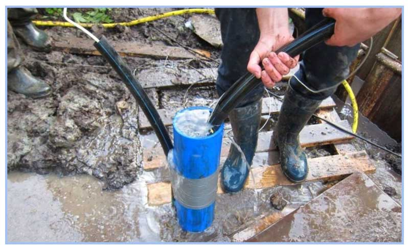 Причины пожелтения воды из скважины на воздухе