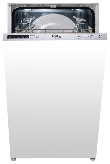 Обзор лучших моделей встраиваемых посудомоечных машин korting
