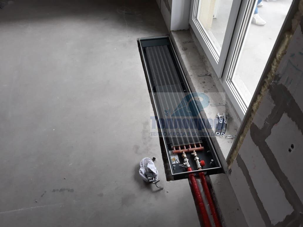 Внутрипольные конвекторы отопления – как выбрать, советы