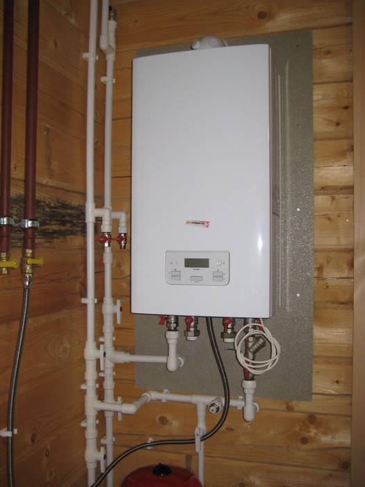 Отопление частного дома — установка настенного газового котла – вне конкуренции