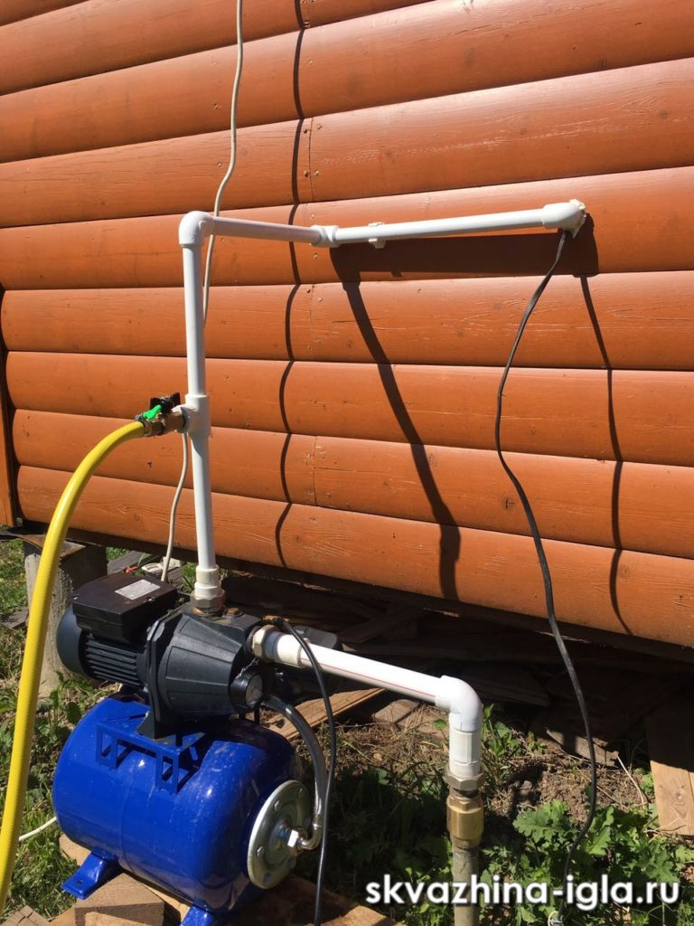 Как сделать летний водопровод на даче из колодца