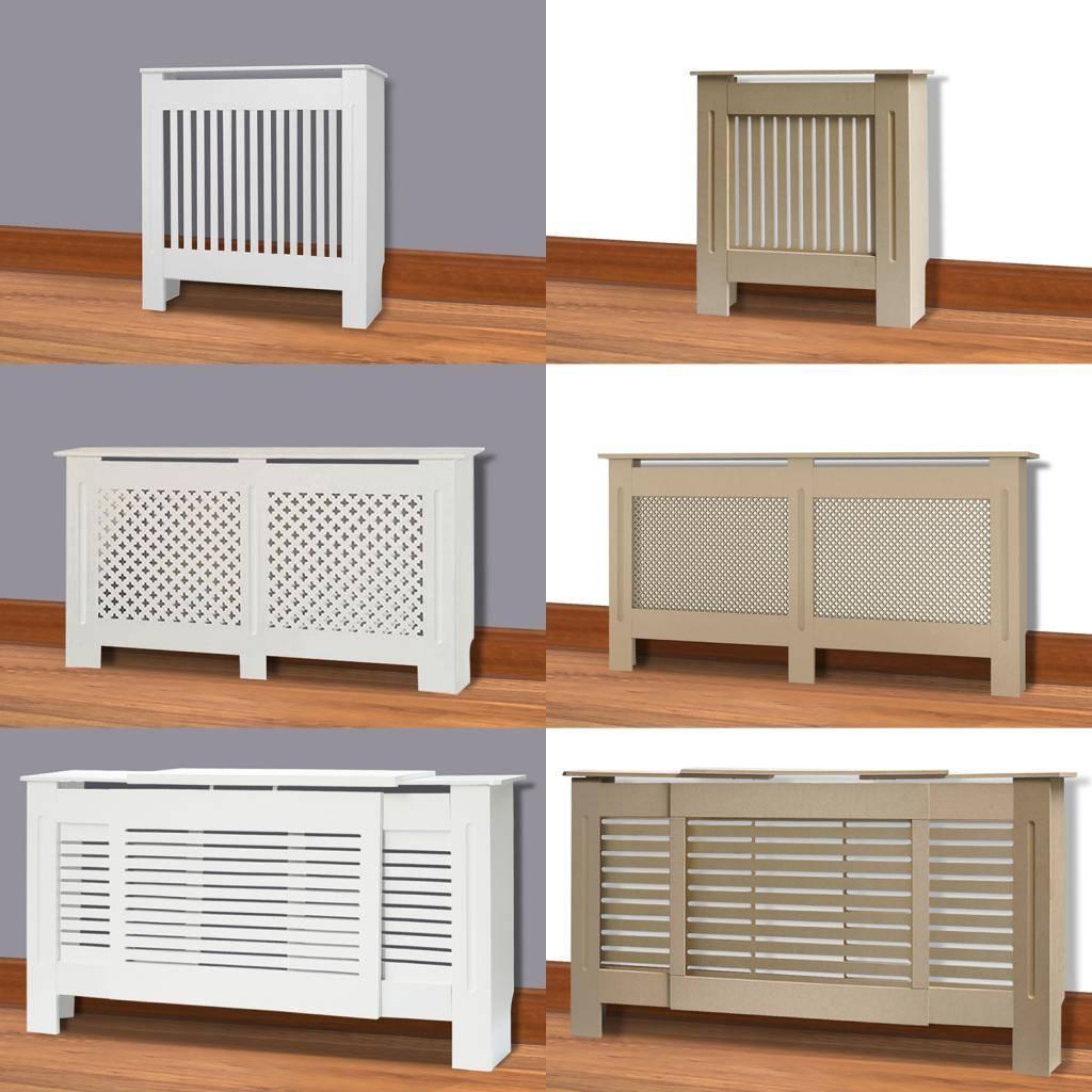 Декоративная решетка для радиатора отопления - размеры, цена и виды