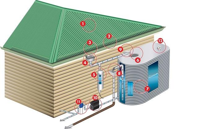Как собирать дождевую воду в хозяйстве: 7 шагов